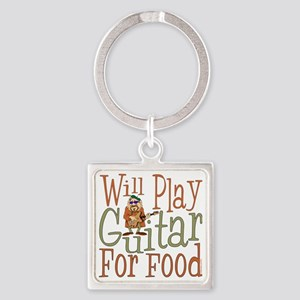(CP) Will Play Guitar dk Square Keychain