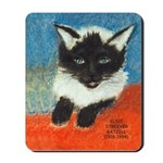 Siamese Kitten by Elsie Mousepad