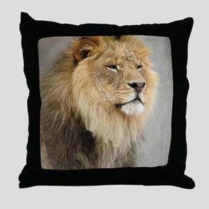 Lion Lovers Throw Pillow
