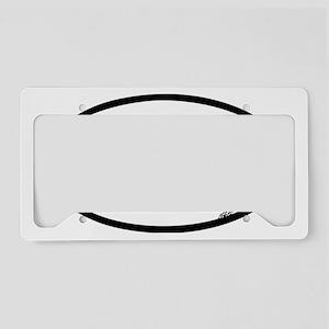 MTB OVAL License Plate Holder