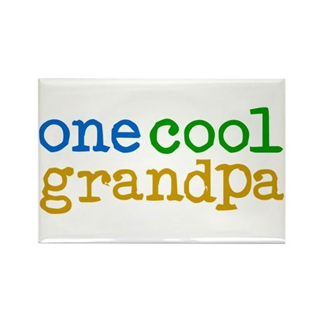 one cool grandpa Rectangle Magnet