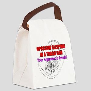 Argument Invalidation Opossum  Canvas Lunch Bag