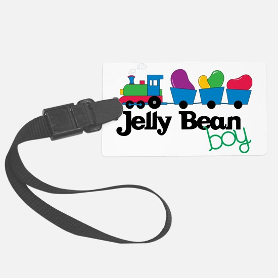 Jelly Bean Boy Luggage Tag