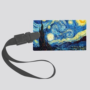 Starry Night Large Luggage Tag