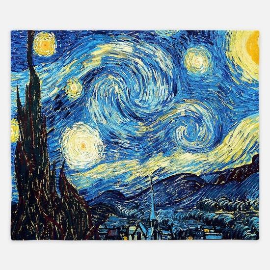 Starry Night King Duvet