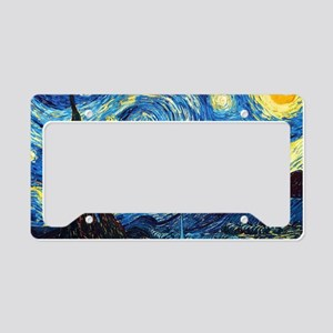 Starry Night License Plate Holder