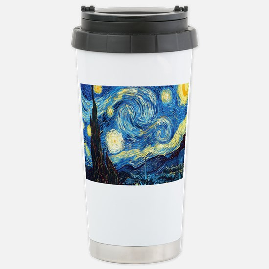 Starry Night Stainless Steel Travel Mug