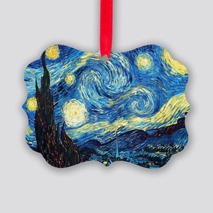 Starry Night Picture Ornament