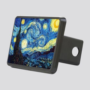 Starry Night Rectangular Hitch Cover
