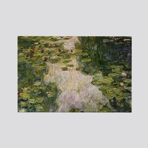 Water Lilies, Monet Rectangle Magnet