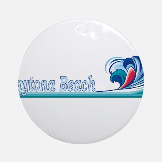 Daytona Beach, Florida Ornament (Round)