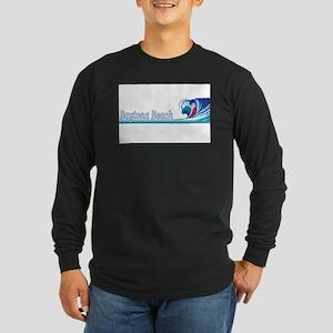 Daytona Beach, Florida Long Sleeve Dark T-Shirt