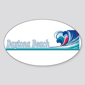 Daytona Beach, Florida Oval Sticker