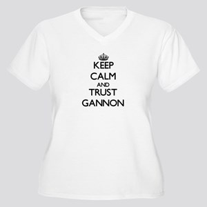Keep Calm and TRUST Gannon Plus Size T-Shirt