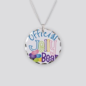 Official Jelly Bean Necklace Circle Charm