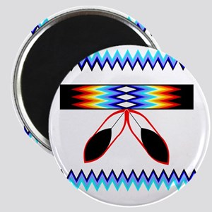NATIVE AMERICAN BEADED STRIP Magnet