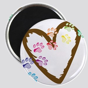 Paw Heart Magnet