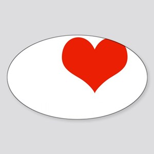 I Heart Melrose Place Sticker (Oval)