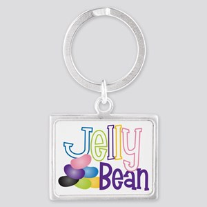 Jelly Bean Landscape Keychain