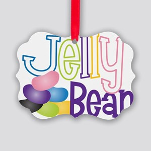 Jelly Bean Picture Ornament
