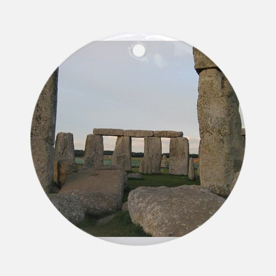 Stonehenge From Inside Ornament (Round)