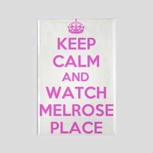 Keep Calm and Watch Melrose Place Rectangle Magnet