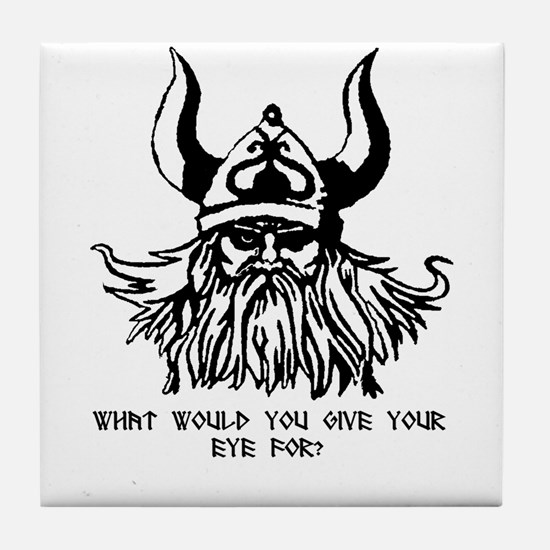 Odin's Eye Tile Coaster