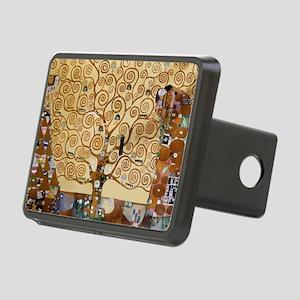 Gustav Klimt Tree Of Life Rectangular Hitch Cover