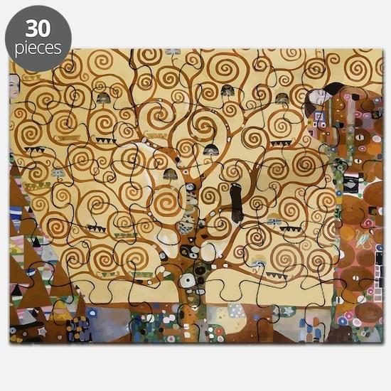 Gustav Klimt Tree Of Life Puzzle