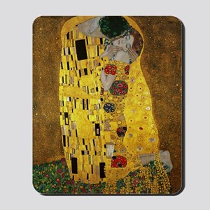 Gustav Klimt The Kiss Mousepad