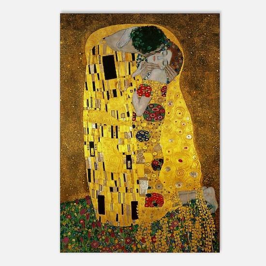 Gustav Klimt The Kiss Postcards (Package of 8)