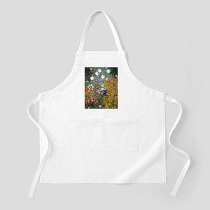 Gustav Klimt Flower Garden Apron