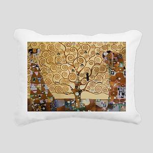 Gustav Klimt Tree Of Lif Rectangular Canvas Pillow