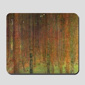 Gustav Klimt Tannenwald II Mousepad