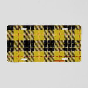 McCleod McCloud Tartan Plai Aluminum License Plate
