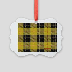 McCleod McCloud Tartan Plaid Picture Ornament