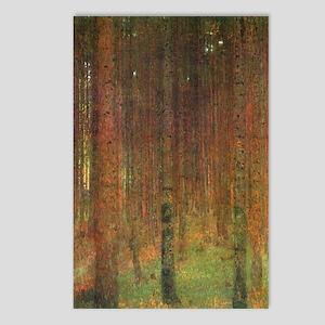 Gustav Klimt Tannenwald I Postcards (Package of 8)