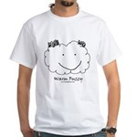Warm Fuzzy White T-Shirt