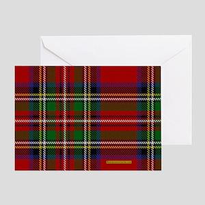 Stewart Tartan Plaid Greeting Card
