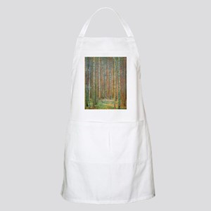 Gustav Klimt Pine Forest Apron