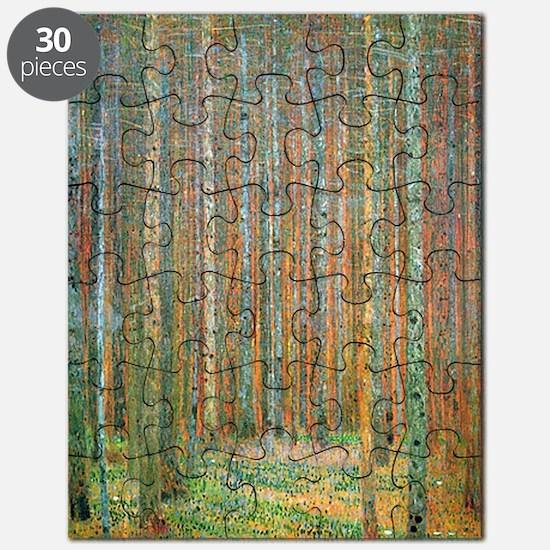 Gustav Klimt Pine Forest Puzzle