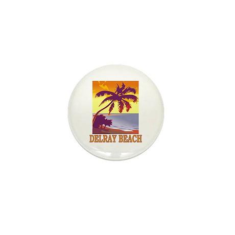 Delray Beach, Florida Mini Button