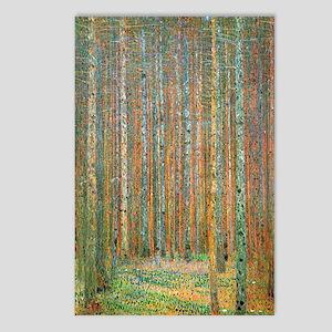 Gustav Klimt Pine Forest Postcards (Package of 8)