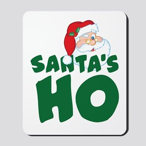 Santa's Ho Mousepad