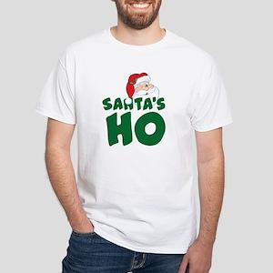 Santa's Ho White T-Shirt