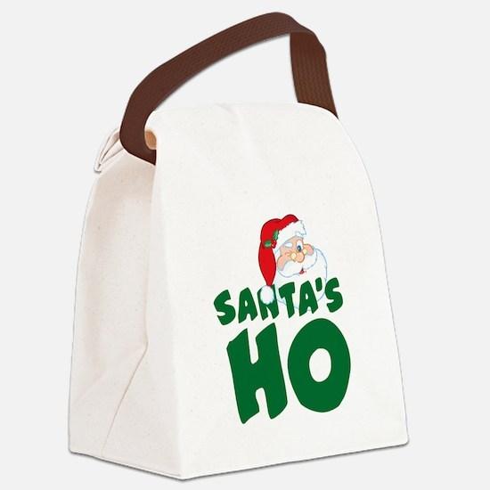 Santa's Ho Canvas Lunch Bag