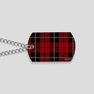 Wallace Tartan Shoulder Bag Dog Tags
