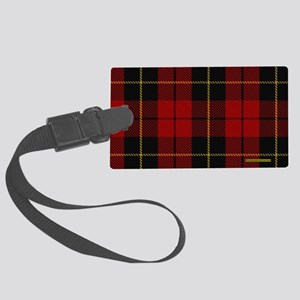 Wallace Tartan Shoulder Bag Large Luggage Tag
