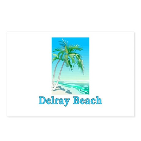 Delray Beach, Florida Postcards (Package of 8)