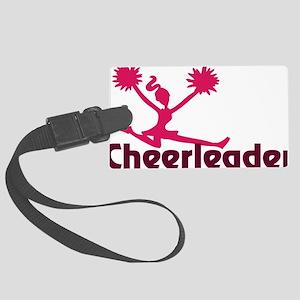 Cheerleader Large Luggage Tag